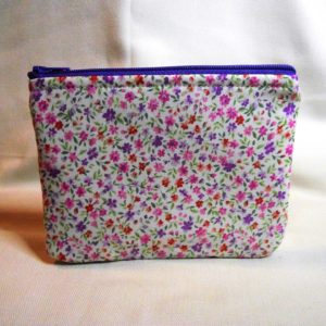 Floral Small Print Small Pouch