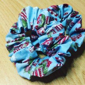 Christmas Parcels Scrunchies
