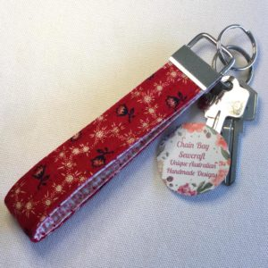 Red key fob
