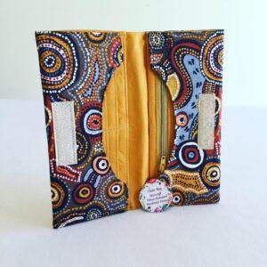 Handmade Bifold Ladies Purse - 'Desert Wind'