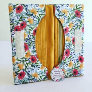 Handmade Bifold Ladies Purse - Summer Floral