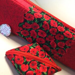 Custom Order - Extra Long Handmade Knitting Needle Bag